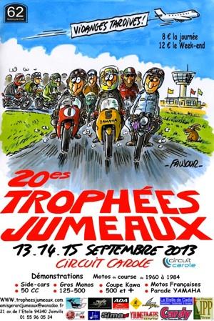 Affiche trophées jumeaux 2013