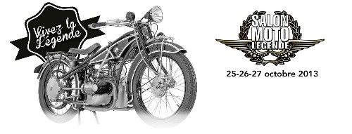 Affiche salon Moto Légende 2013