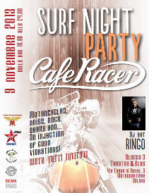 Surf Night Party Cafe racer EICMA 2013